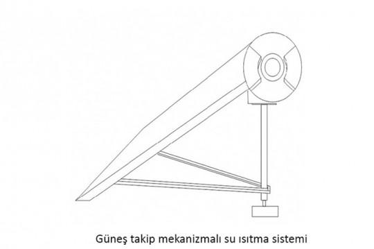 Gunes-Takip-Mekanizmali-Su-Isitmali-Sistem